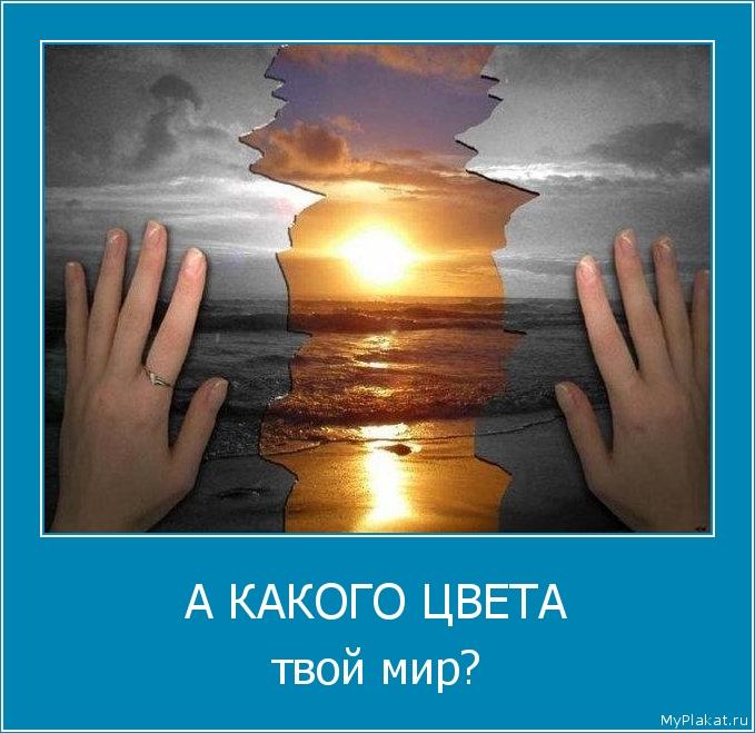 А КАКОГО ЦВЕТА твой мир?