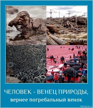 ЧЕЛОВЕК - ВЕНЕЦ ПРИРОДЫ,