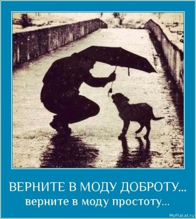 ВЕРНИТЕ В МОДУ ДОБРОТУ...