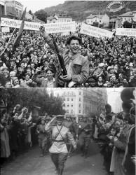 """РУССКИЕ """"ВАРВАРЫ"""" ВОРВАВШИСЬ В ЕВРОПУ, - уничтожили фашизм и оставили после себя больницы, школы, театры."""