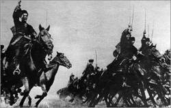 НАПОЛЕОН БОАНАПАРТ: - -если бы у меня были казаки - я завоевал бы весь мир