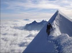 ОДИНОЧЕСТВО И ПУТЬ ВНИЗ - единственное, что есть на вершине