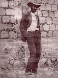 ФОРТУНО САРАНО - капитан повстанцев в мексике. так он ждёт расстрела