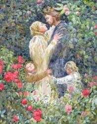 ПОЧИТАЙТЕ ДРУГ ДРУГА, СЫН - МАТЬ И ОТЦА, - муж с женою живите в согласии.