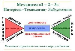 МЕХАНИЗМ 3-2-3 - А ты знаешь механизм уничтожения твоей Родины?