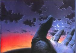 ИНОГДА ВЕСЬ МИР В ТВОИХ РУКАХ, - иногда ты в руках мира!