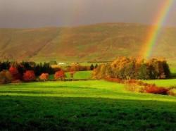 РАДУГА - чтобы увидеть радугу, нужно пережить дождь